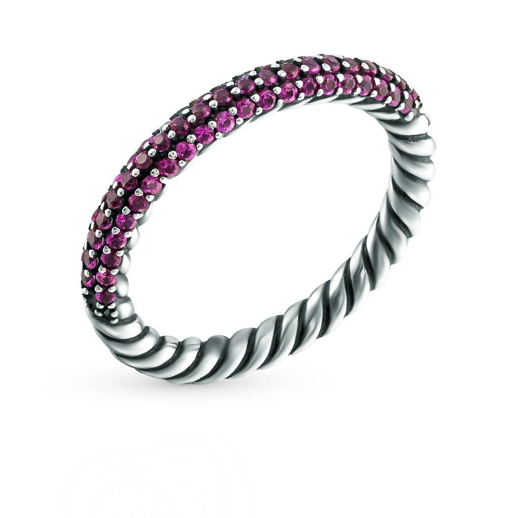 Фото «кольцо из серебра с сапфиром синтетическим»