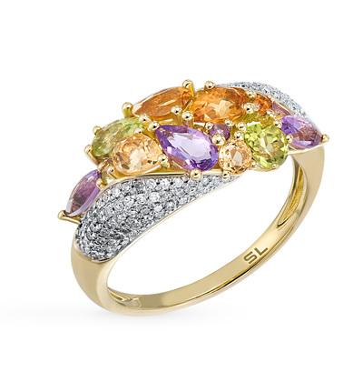 Фото «кольцо с аметистами»