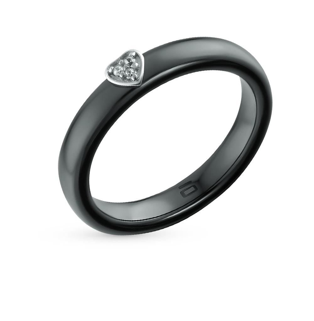 Фото «кольцо из серебра с серебром и фианитом»