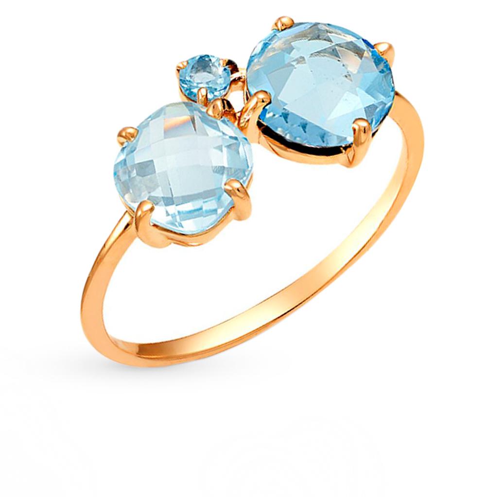 Фото «золотое кольцо с бриллиантами, топазами, эмалью и рубинами»