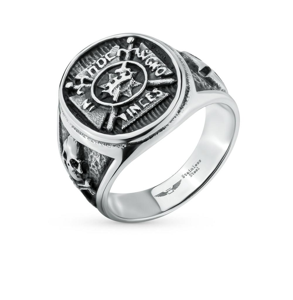 Фото «кольцо из стали и эмали»